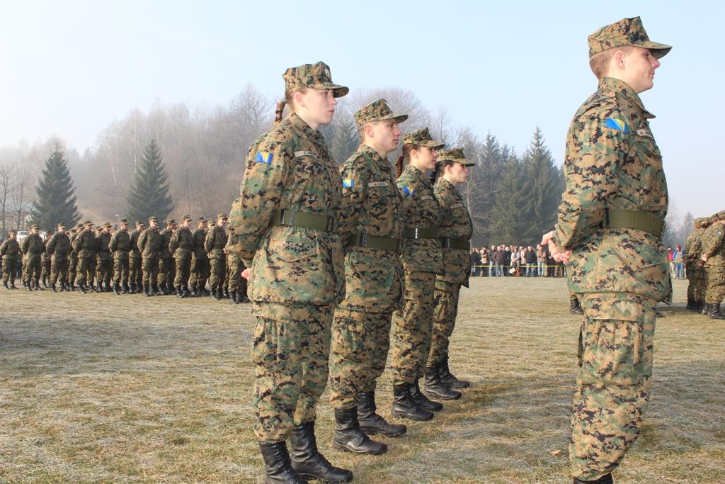 Javni oglas za prijem vojnika u profesionlanu vojnu službu u početnom činu vojnika OS BiH